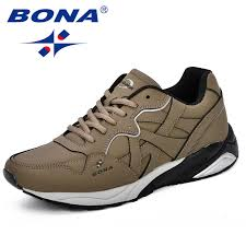 $37.73 <b>BONA New Classics Style</b> Men Tennis Shoes Lace Up Men ...