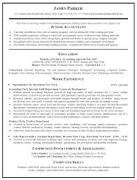 resume samples accounting jobs  seangarrette cojunior  resume sample junior accountant   resume samples accounting