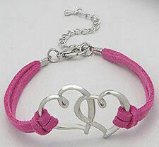 Розовые кожаные модные <b>браслеты</b> любовь - огромный выбор ...