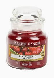 <b>Свеча ароматическая</b> Yankee Candle <b>Black cherry</b> купить за 999 ...