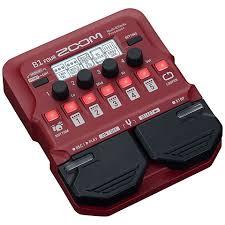 <b>Zoom B1</b> Four « <b>Процессор эффектов</b> для бас-гитары