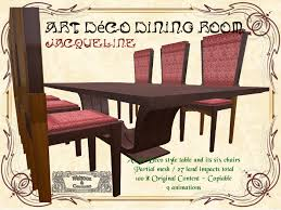 art deco dining room jacqueline 9 animations 27 art deco dining