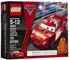 lego cars cars radiator springs lightning mcqueen pcs