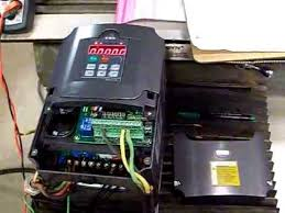 HUANYANG 4.0 KW <b>INVERTER VFD</b> HOW TO SETUP AND WIRE ...