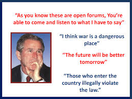 george w bush funny quotes funny quotes funny george bush quotes set 3