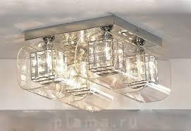 Потолочная <b>люстра</b> на 4 лампочки <b>Lussole Sorso</b> в форме ...