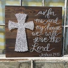 art christian cross wall decor