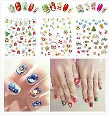christmas <b>nail</b> design <b>sticker</b> - Luxanna Christmas <b>Nail Stickers 6</b> ...