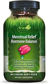 Irwin Naturals Menstrual Relief Hormone Balance ... - Amazon.com