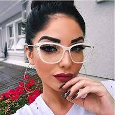 2019 STYLE Fashion Square <b>Glasses Frames Women</b> Trending ...