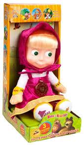 Мягкая <b>игрушка Мульти-Пульти Маша</b> 3 сказки 30 см — купить по ...
