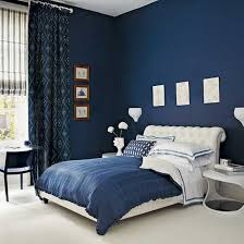 elegant design ideas of cute room painting with navy blue color wall paint and white tufted blue room white furniture