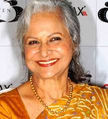 Panaji: Veteran actress Waheeda Rehman got a standing ovation as she received the inaugural Centenary Award for Indian Film Personality of the Year at the ... - waheeda-rehman-473