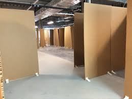 gainesville cardboard office allows doctors patients to create best space cardboard office
