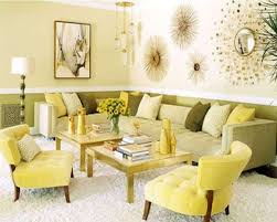 Yellow Living Room Decorating Spring Comfortable Living Rooms Decorating Ideas In Yellow And