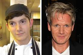 It erupted four years ago when the chef suspended his wife's dad – also called Chris Hutcheson – amid allegations of financial impropriety. - 539cab31188a0_CompositeRamsay