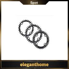 Bicycle <b>Oval Aluminium Alloy</b> Chainring for BCD 104mm Single ...