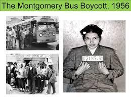 「Montgomery Bus Boycott」の画像検索結果