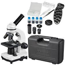 <b>Микроскоп Bresser Junior Biolux</b> SEL 40–1600x, белый, в кейсе за ...