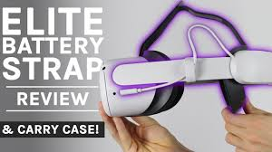 Quest 2 Elite Battery <b>Strap</b> & <b>Case</b> Review - YouTube