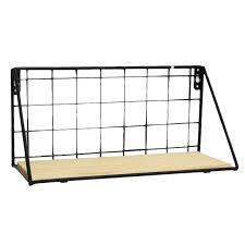 <b>WINOMO</b> Wall <b>Wrought Iron</b> Shelf Wall mounted Storage Rack ...