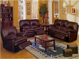 interior brown leather sofa on brown furniture living room ideas