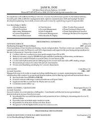 resume format with company description company resume example
