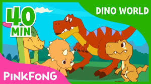 Dino World | T-Rex and more | +Compilation | <b>Dinosaur</b> Musical ...