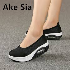 A <b>New</b> Women <b>Mesh</b> Breathable <b>Shoes</b> Female <b>Thick Shoes</b> Casual ...
