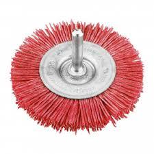 <b>Щетка для дрели</b> плоская нейлоновая <b>KWB</b>, 100 мм - купите по ...