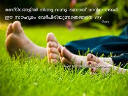 FRIENDSHIP QUOTES AND IMAGES: Beautiful Friendship Quotes in Malayalam via Relatably.com