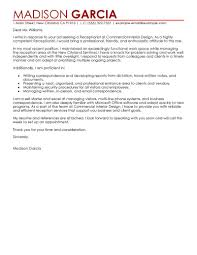 Administrative Assistant Cover Letter Example  sample cover letter     happytom co
