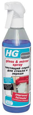 """<b>Чистящий</b> спрей """"HG"""" для стекла и <b>зеркал</b>, 500 мл — купить в ..."""