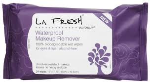la fresh waterproof makeup remover wipes lavender