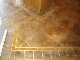 Kitchens Floors Floor Tile Patterns Concrete Kitchen Floor Random Tile Pattern