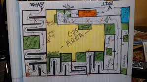 Help  Does anyone have a floorplan layout of a haunted house maze    Does anyone have a floorplan layout of a haunted house maze they could