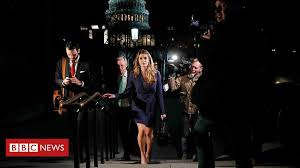 Trump-Russia: Communication director Hope Hicks 'admits <b>white lies</b>'