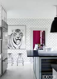 subway kitchen white subway tile dark grout in the kitchen interiors by color