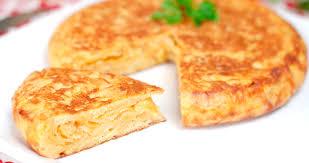Resultado de imagen de tortilla de patata