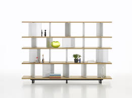 contemporary shelf  wooden  aluminum  with storage compartment
