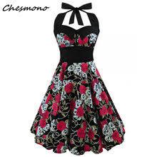 Best value Strapless Button <b>Summer Dress</b> – Great deals on ...