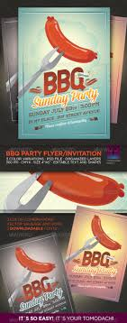 bbq summer party flyer invitation by tomodachi graphicriver bbq summer party flyer invitation events flyers