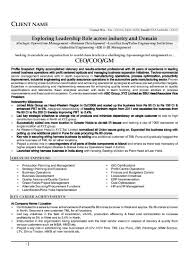 resume samples cv template cv sample leadership role automobile industry page 1