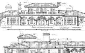 Detailed and Unique House PlansHere is a closer look at the elevation detail