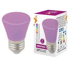 Декоративная светодиодная <b>лампа Volpe LED</b>-<b>D45</b>-<b>1W</b>/<b>PURPLE</b> ...
