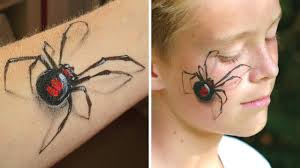 <b>3D</b> spider makeup / Arm and <b>face</b> painting tutorial - Great illusion ...