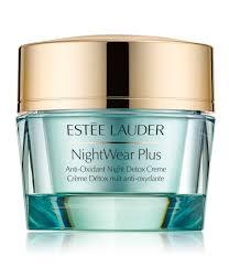 <b>Estee Lauder NightWear Plus</b> Anti-Oxidant Night Detox Crème ...