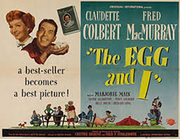Bildergebnis für claudette colbert The egg and I