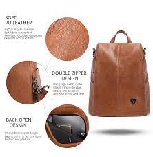 <b>POMELOS Backpack Female Women</b> PU Leather <b>Backpack Bag</b> ...