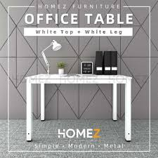 Homez 4 Ft Writing Table / <b>Study Table</b> / <b>Solid</b> Board Office Table ...